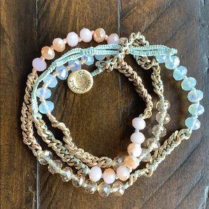 Chloe + Isabel Bead + Chain Multi-Wrap Bracelet